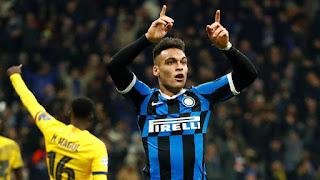 Inter To offer €5m per season contract To Lautaro Martinez