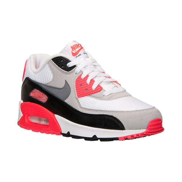 buy online d7416 863ba Nike Air Max 90 OG. Infrared. White, Cool Grey, Neutral Grey, Black.  725233-106. Mens and Womens sizes available.