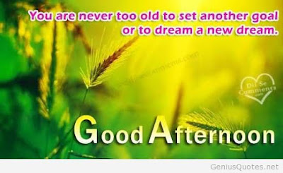 good afternoon you are never too old to set