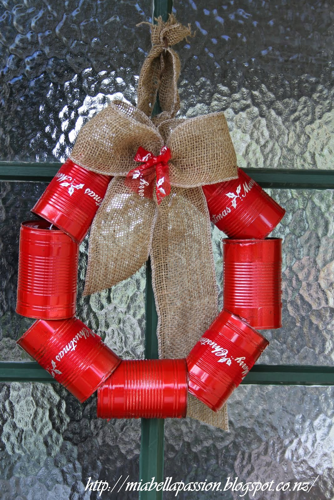 The Tin Can WREATH (disaster):