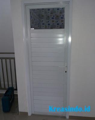 Harga Pintu Panel Aluminium Kamar Mandi