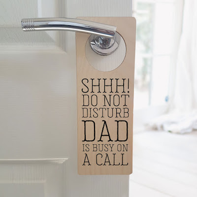 Personalised Do Not Disturb Door Hanger