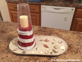 Jesus is the Light of the World lighthouse craft