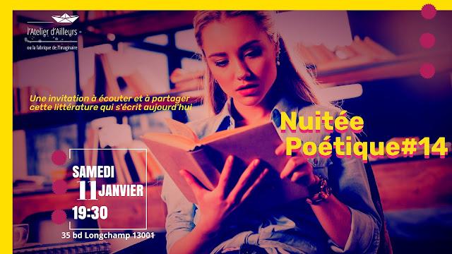 Nuitée poétique du samedi 11 Janvier