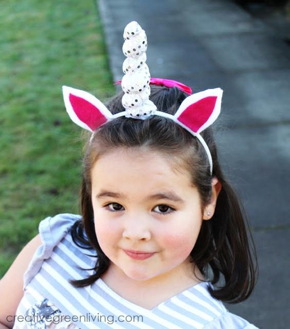 How to make a DIY unicorn horn headband