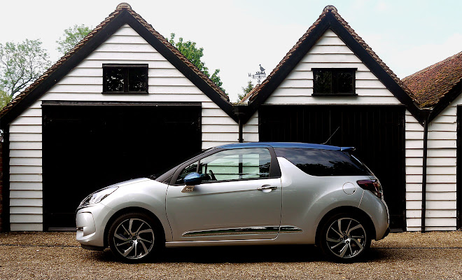 DS 3 side view