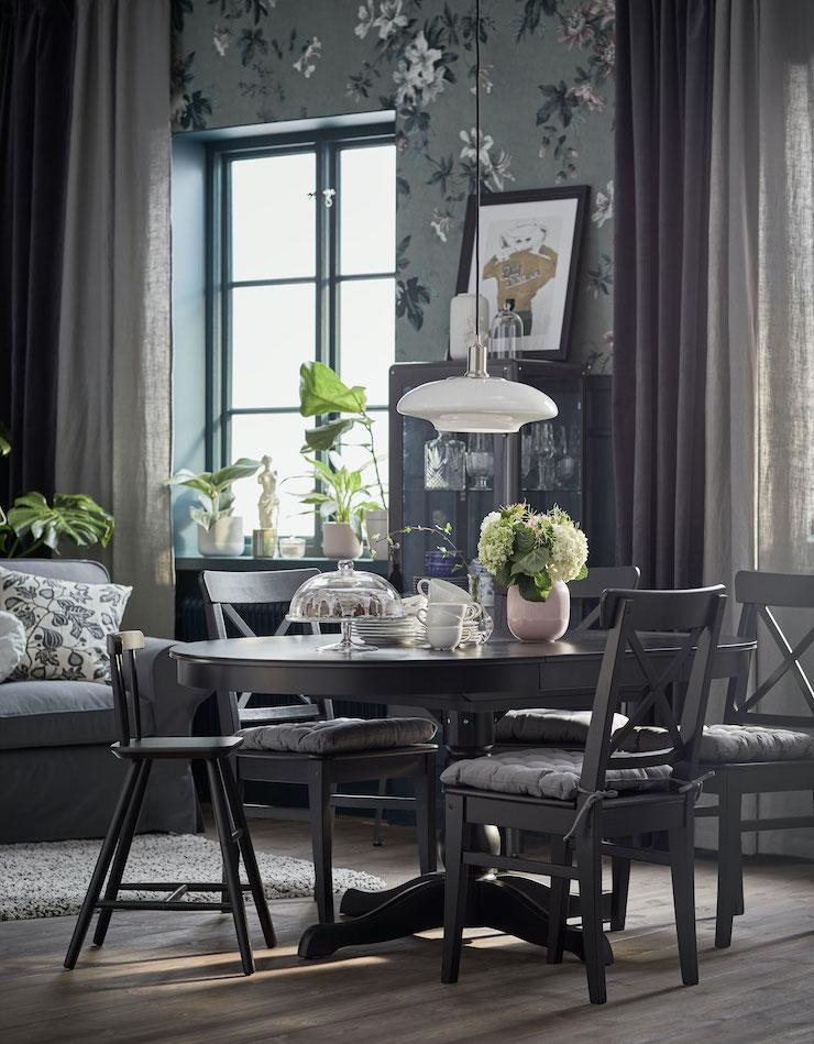 Salones catálogo IKEA 21: salón de estilo clásico.