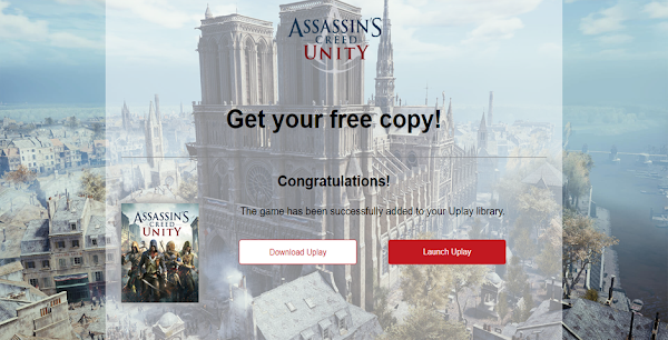 Ubisoft Giveaway Assassin's Creed Unity | Unduh Seakarng Juga!