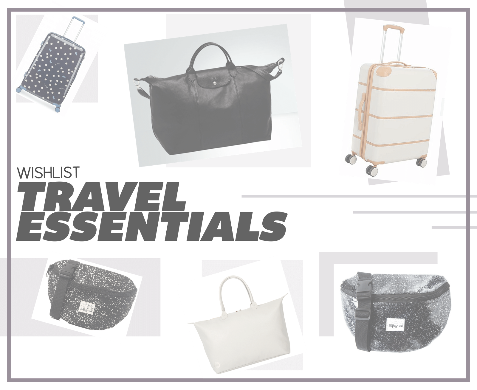 travel essential wishlist