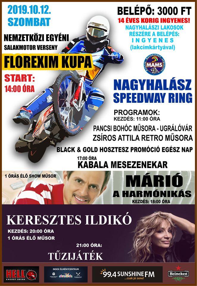Ajánló Florexim Kupa Nagyhalász -plakát
