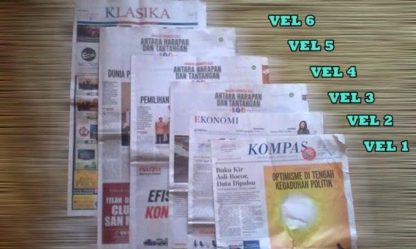 Paginasi Surat Kabar dan Majalah, reka bentuk surat kabar, jurnal rozak, vel