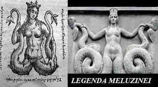Meluzina, simbol si legenda