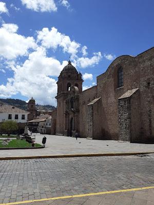 Plaza de Armas de Cusco vacía por Coronavirus