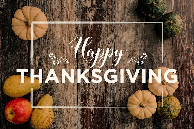 Image: Happy Thanksgiving, by Biljana Jovanovic on Pixabay