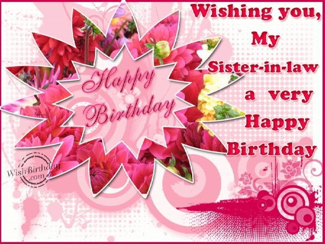 Happy Birthday Wishes For My Younger Sister In Law Funny Quotes