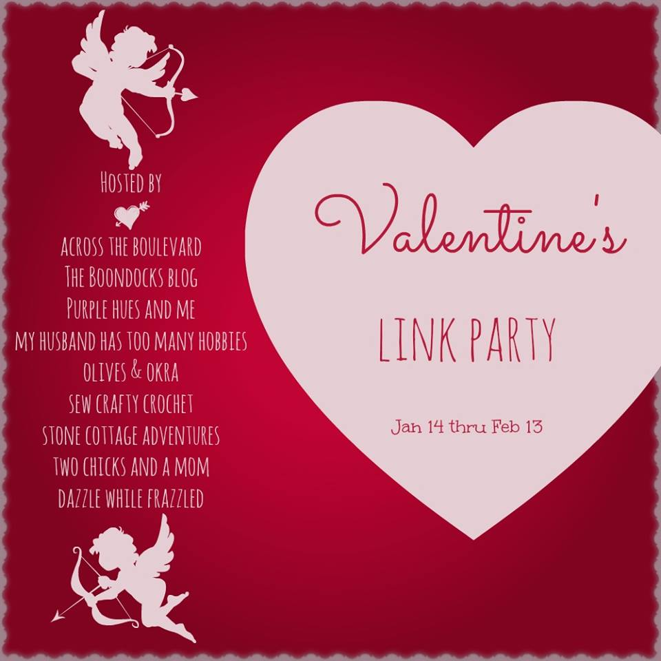 Stone Cottage Adventures Valentine 39 S Link Party And Wreath Tutorial