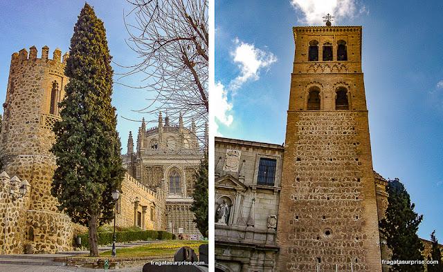 Muralha de Toledo e Igreja de São Pedro Mártir