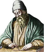 Representação artística de Euclides