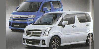 Desain Suzuki Wagon R 2017 terlihat lebih segar dan facelift.