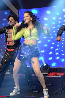 Sunny Leone Dancing on stage At Rogue Movie Audio Music Launch ~  080.JPG
