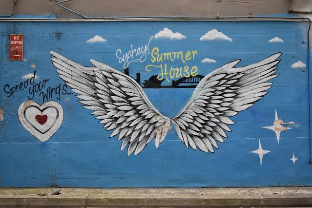 Street Art in Woolloomooloo