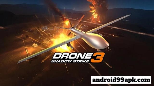لعبة Drone : Shadow Strike 3 v1.12.119 مهكرة كاملة (192 MB) للاندرويد