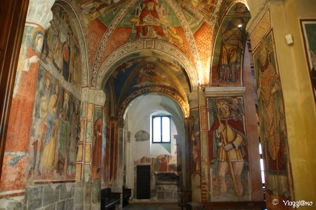 Affreschi della Basilica dell'Isola di San Giulio