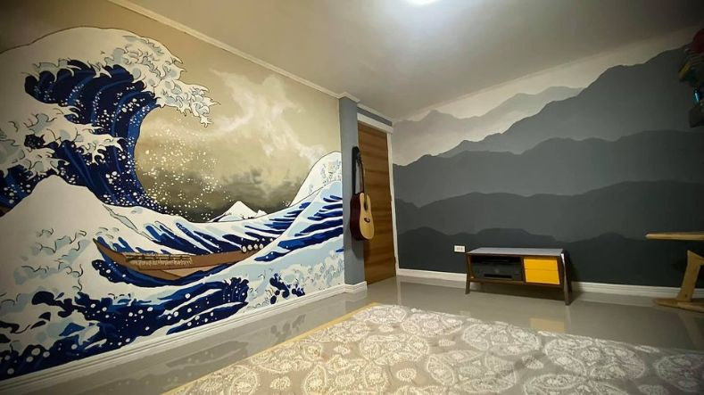 Japanese-style room makeover