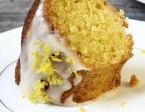 LEMON GLAZE FOR BUNDT CAKES