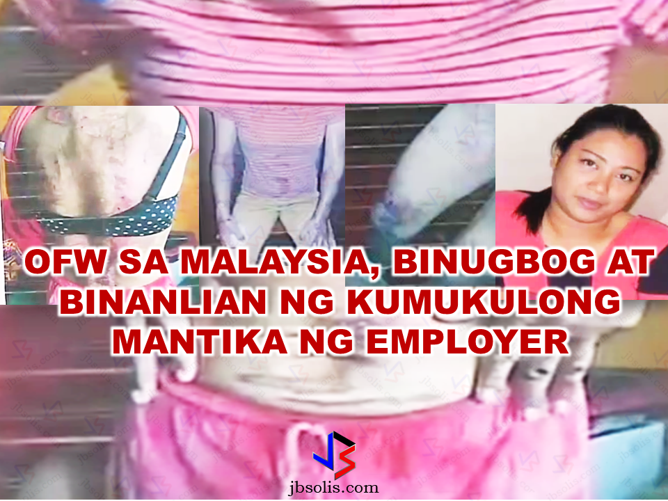 The family of an Overseas Filipino Worker (OFW) cries justice over what happened to their loved one who was physically abused and maltreated in Malaysia. Her employer even scalded her with a boiling cooking oil and scorched using a heated pot!  Joramie Garcia Torres left to work as a household helper in Malaysia after applying to a recruitment agency in Quezon City. Just barely a month after her arrival, she absconded from her employer to avoid the danger of being raped. he then went to the counterpart agency in Malaysia to find her a new employer. On January, she got her new employer who is a finance manager in an oil refinery, according to the report. The family was not able to contact her since then.  Sponsored Links   The family received a news  from a message last June that Joramie was missing. The agency did not tell them anything about her disappearance. On September 1, the family learned Joramie, wounded, fled her abusive employers on foot until she collapsed in an abandoned lot . A couple assisted her and brought her to a church. She was eventually able to reach the embassy shelter and finally talked to her family back home.  Further hearing regarding Joramie's case is scheduled for next month. The family is also determined to sue the employment agency who deployed her. Joramie is a former teacher who tried her luck in working overseas as an OFW for the promise of bigger salary and help her family.  The family is appealing to President Duterte for help in serving justice to their aggravated OFW loved one. Advertisement Read More:          ©2017 THOUGHTSKOTO www.jbsolis.com SEARCH JBSOLIS, TYPE KEYWORDS and TITLE OF ARTICLE at the box below