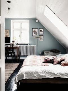 Narrow Minimalist Bedroom Design