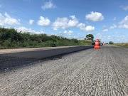 Exército Brasileiro avança nas obras de restauração da BR-135 no Maranhão