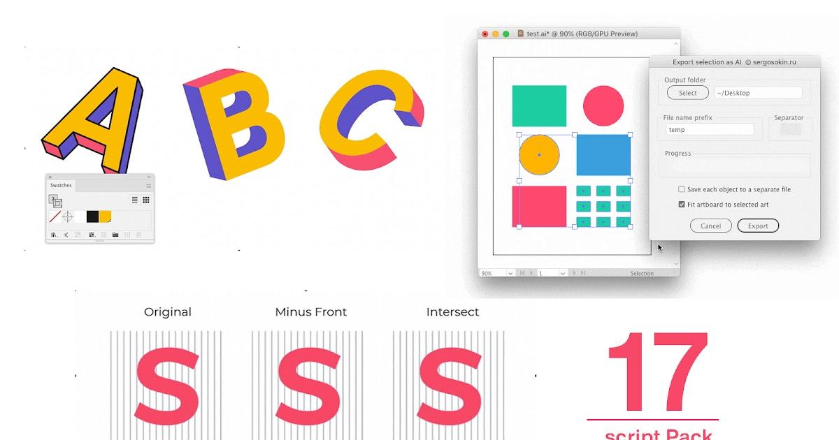 Download Best Free adobe illustrator script Pack - Illustrator .jsk ...