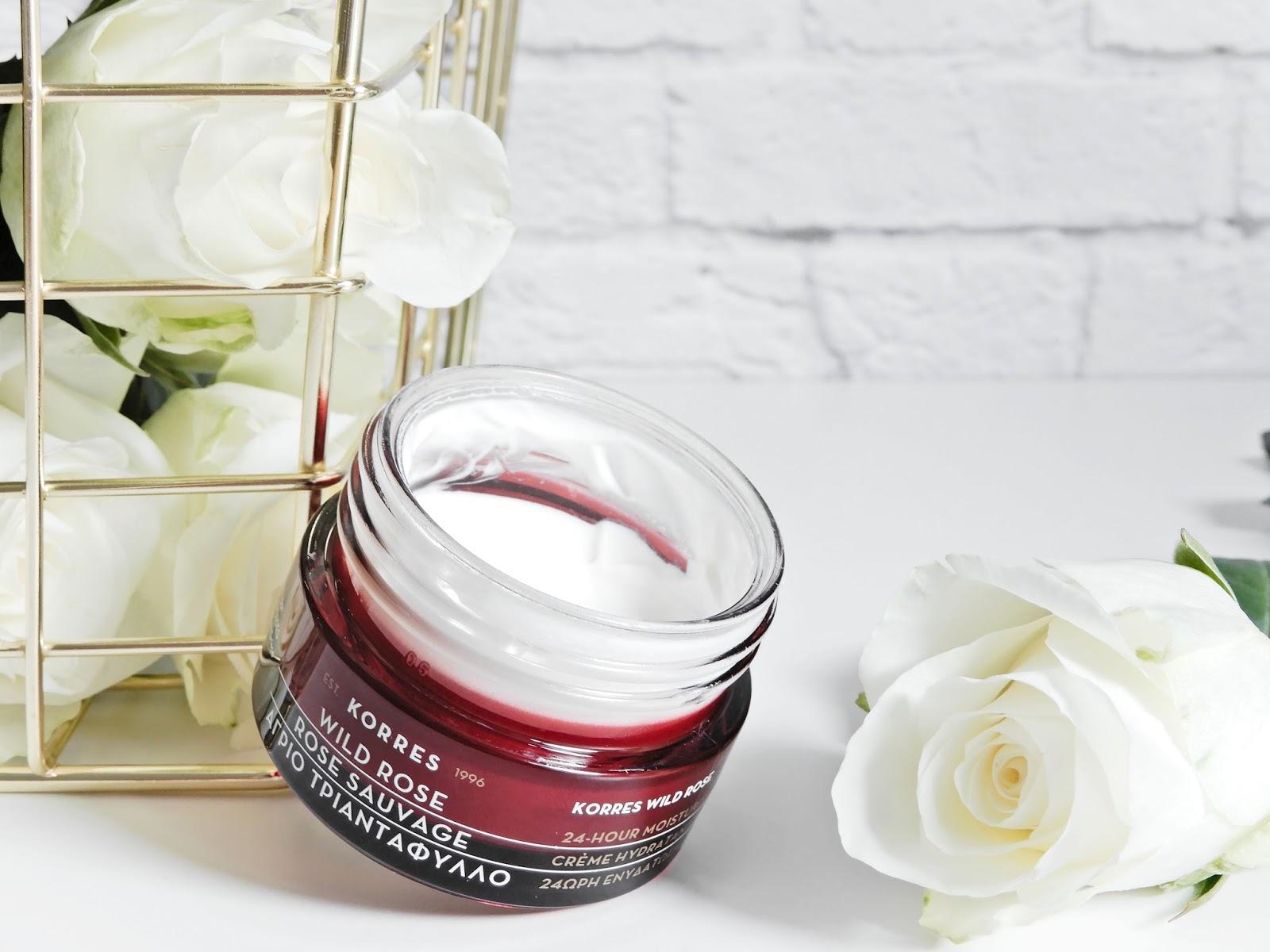 Korres Wild Rose 24H Moisturising & Brightening CreamNormal/Dry Skin, korres wild rose, korres krem na dzień,