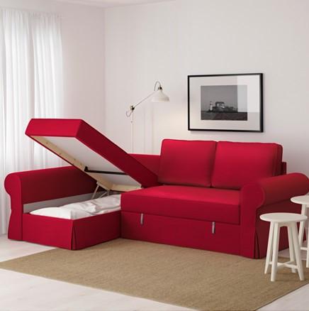 ikea schlafsofa aufklappen. Black Bedroom Furniture Sets. Home Design Ideas