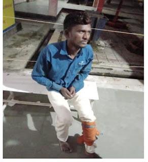 थाना क्षेत्र बिधनू में हुई पुलिस मुठभेड़ में गोली लगने से घायल एक शातिर अभियुक्त थाना बिठूर कानपुर नगर को गिरफ्तार किया गया