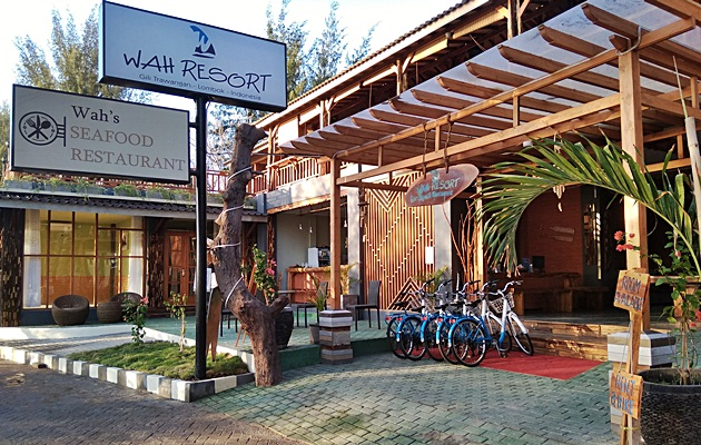 End Year Staycation Di Wah Resort Trawangan Lombok