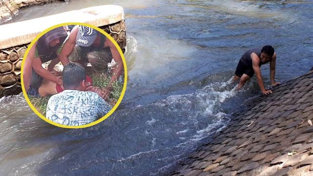 Bocah 13 tahun tenggelam di Kali Abangan Lombok Tengah