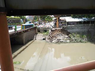 Plengsengan Sungai Sadar Ambrol Lagi, Ini yang Dilakukan Pemkot Mojokerto