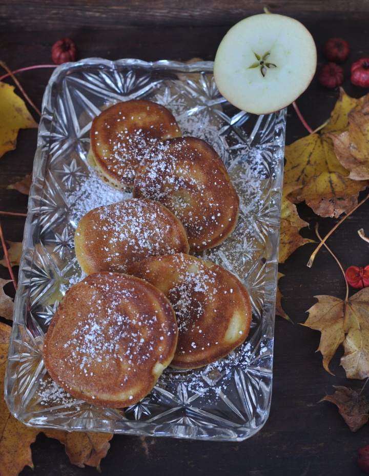 gluten free Apple Fritters, the perfect treat for fall