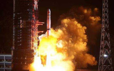 China Launched Data Relay Satellites