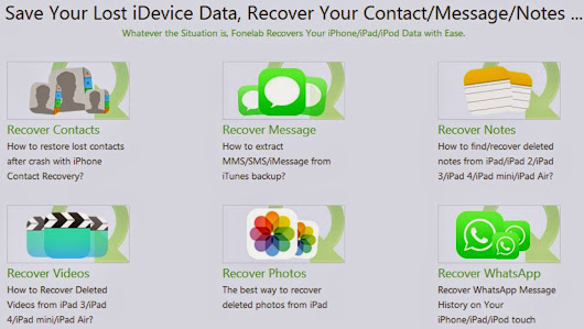 iPhone iPad Data Recovery
