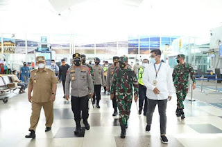 Sidak Bersama Pangdam I/BB ke Bandara Kualanamu, Kapolda: Tidak Ada Ditemukan Warga India Masuk ke Sumut