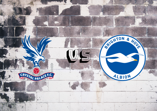 Crystal Palace vs Brighton & Hove Albion  Resumen