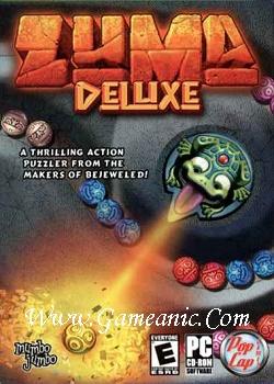 Zuma Deluxe Game Download Cover