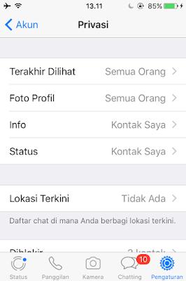 Tutorial Agar Whatsapp Terlihat Tidak Online Oleh Orang Lain 4