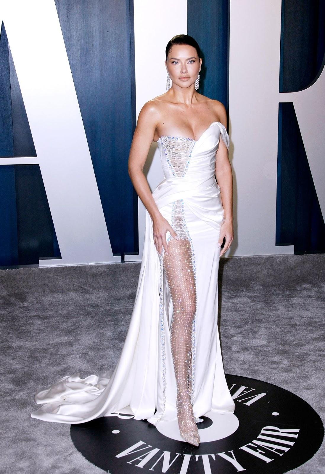 Adriana Lima - Vanity Fair Oscar Party in Los Angeles