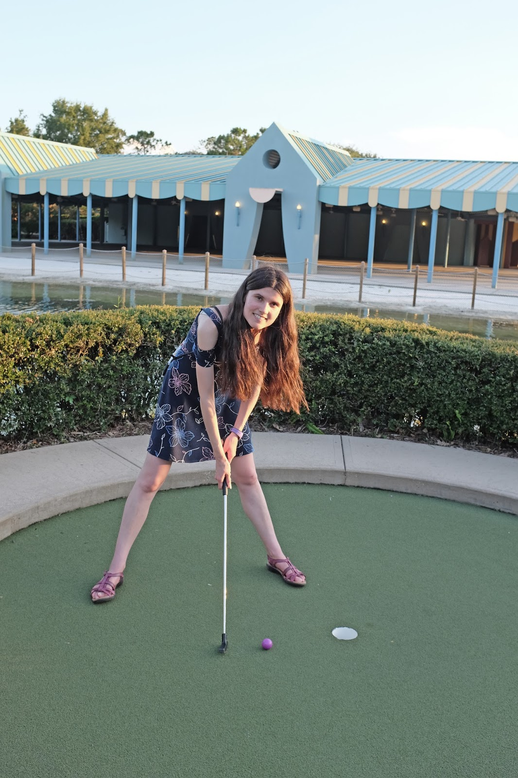 Miniature golf at Walt Disney World
