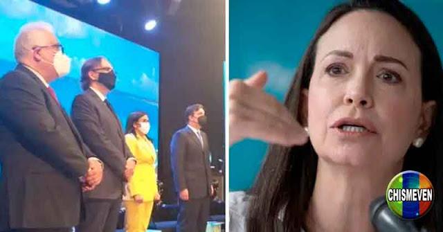 María Corina Machado le dio hasta con el tobo a FEDECÁMARAS por venderse al régimen
