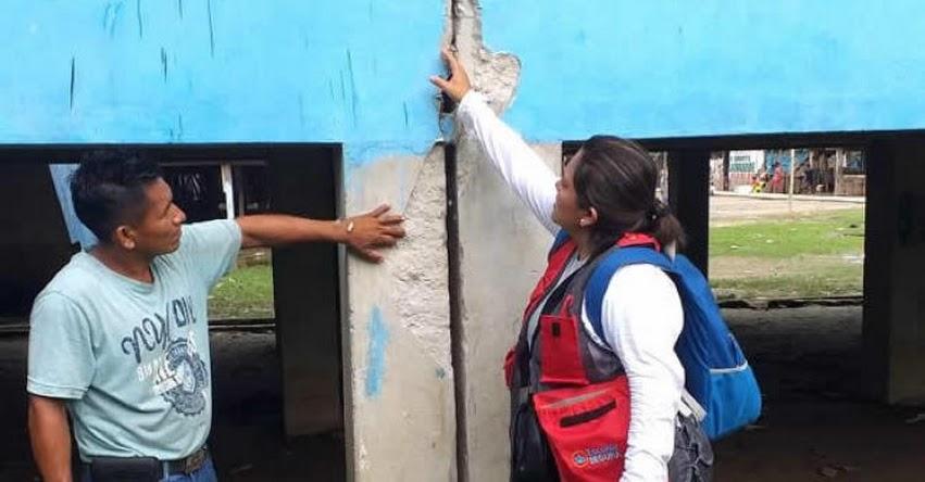 MINEDU: Ministra Flor Pablo hace balance de colegios afectados por terremoto registrado en Loreto - www.minedu.gob.pe
